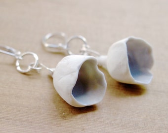 Flower Ceramic Porcelain earrings