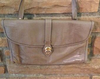 Vintage Tan Handbag