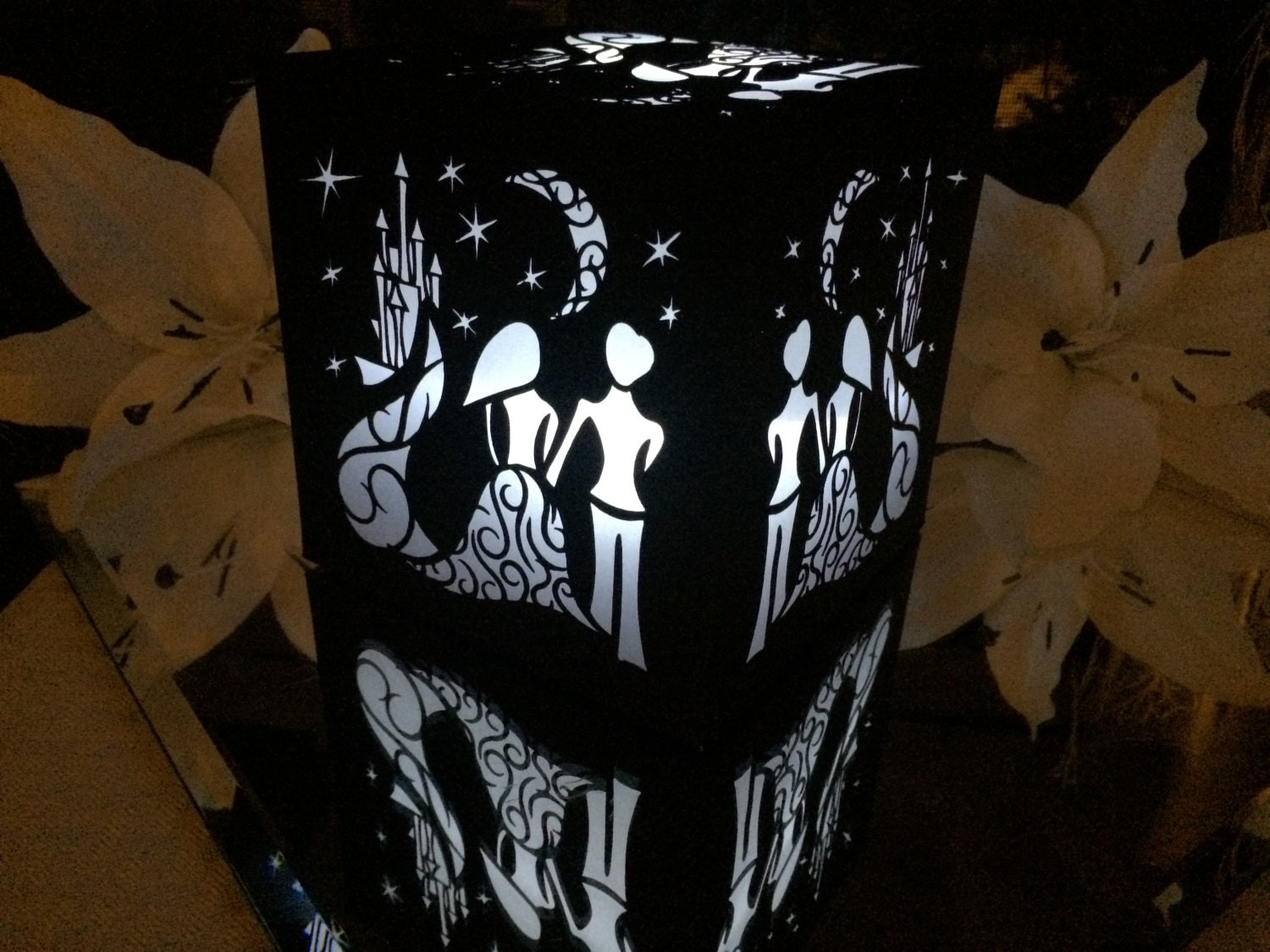 Starry night fairytale lantern luminary by shimmeringceremony
