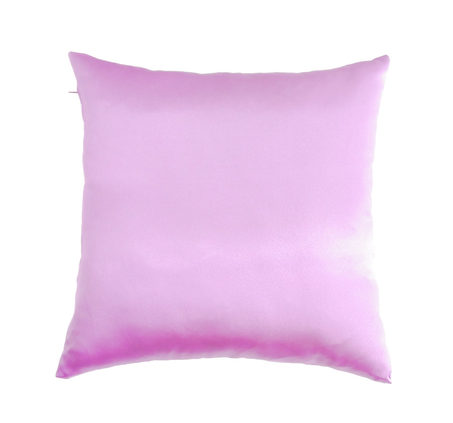 Purple Pillow Covers Satin Throw Pillow by AnnushkaHomeDecor