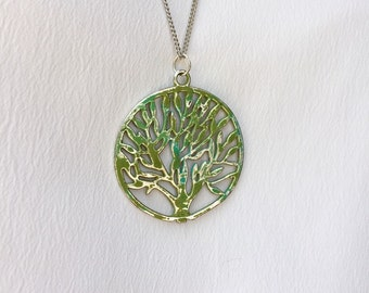 Tree necklace - tree of life - family tree - gift for mom