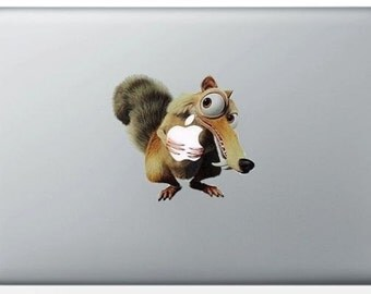 Stickers Scrat MacBook Pro & Air