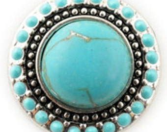Turquoise Stone Snappy