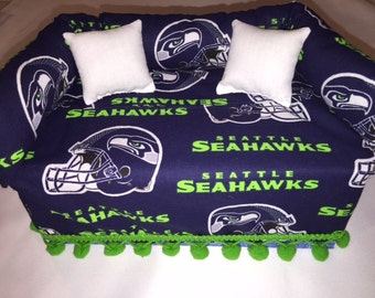 Seattle Seahawks Tissue Box Cover