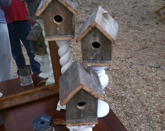 Bird Houses, barnwood