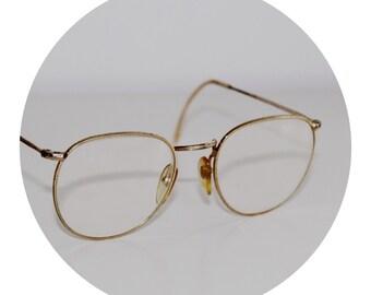 Gold Reading Glasses