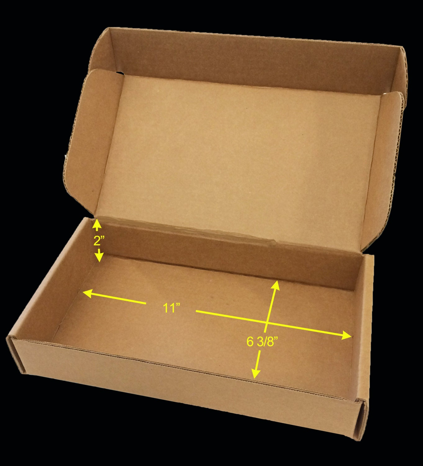 case of 25 tuck top saverboxes box perfectly fits usps flat. Black Bedroom Furniture Sets. Home Design Ideas