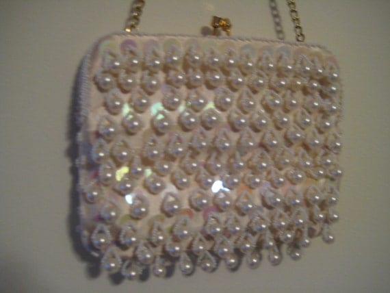 Beaded and Bangle Vintage Evening Bag by La Regale