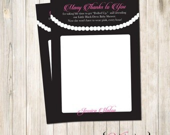 Little Black Dress Thank you - Thank You Card (Custom)