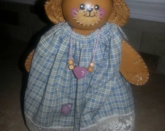 Wooden Country Bear