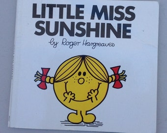 3 Little Miss Books, Little Miss Sunshine, Little Miss Giggles and Little Miss Tiny, 1980s
