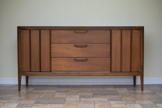 mid century modern keller furniture credenza sideboard