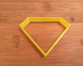 SuperMan Cookie/Bread Cutter,Party Supply,Supplies,Birthday,Party,Hero,Kent,Clark,Undercover,Man of Steel