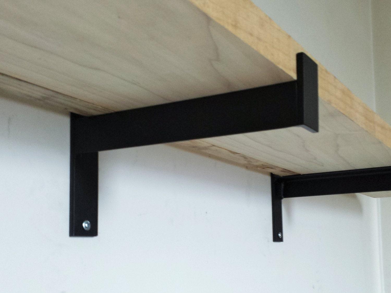 4 6 industrial heavy duty shelf bracket metal angle. Black Bedroom Furniture Sets. Home Design Ideas
