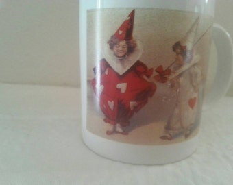 Love's Greeting Mug Artwork From Wood River Gallery, Mill Valley CA