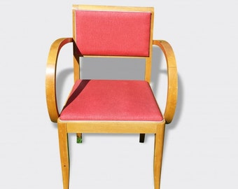 Beautiful Red Bridge armchair french vintage excellent condition