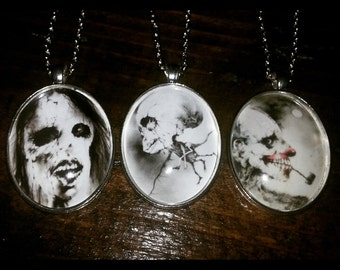 Scary Stories To Tell In The Dark Pendant