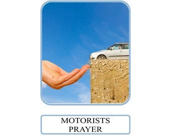Motorists Prayer Card