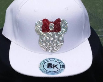 Bling Minnie Mouse Baseball Cap