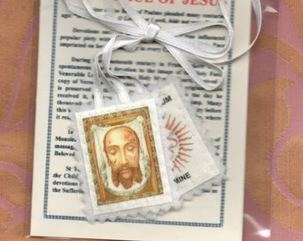 Unusual Scapular of the Holy Face of Jesus