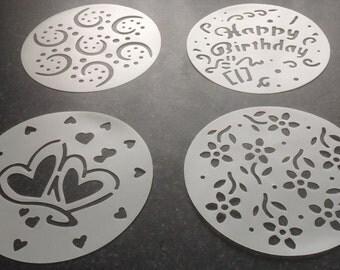 Washable Cake Stencils