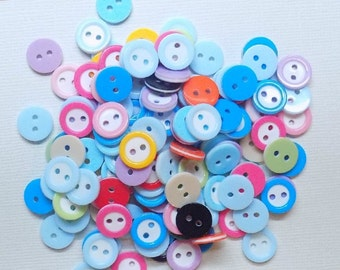 30 Multicolor Buttons - #R-00045