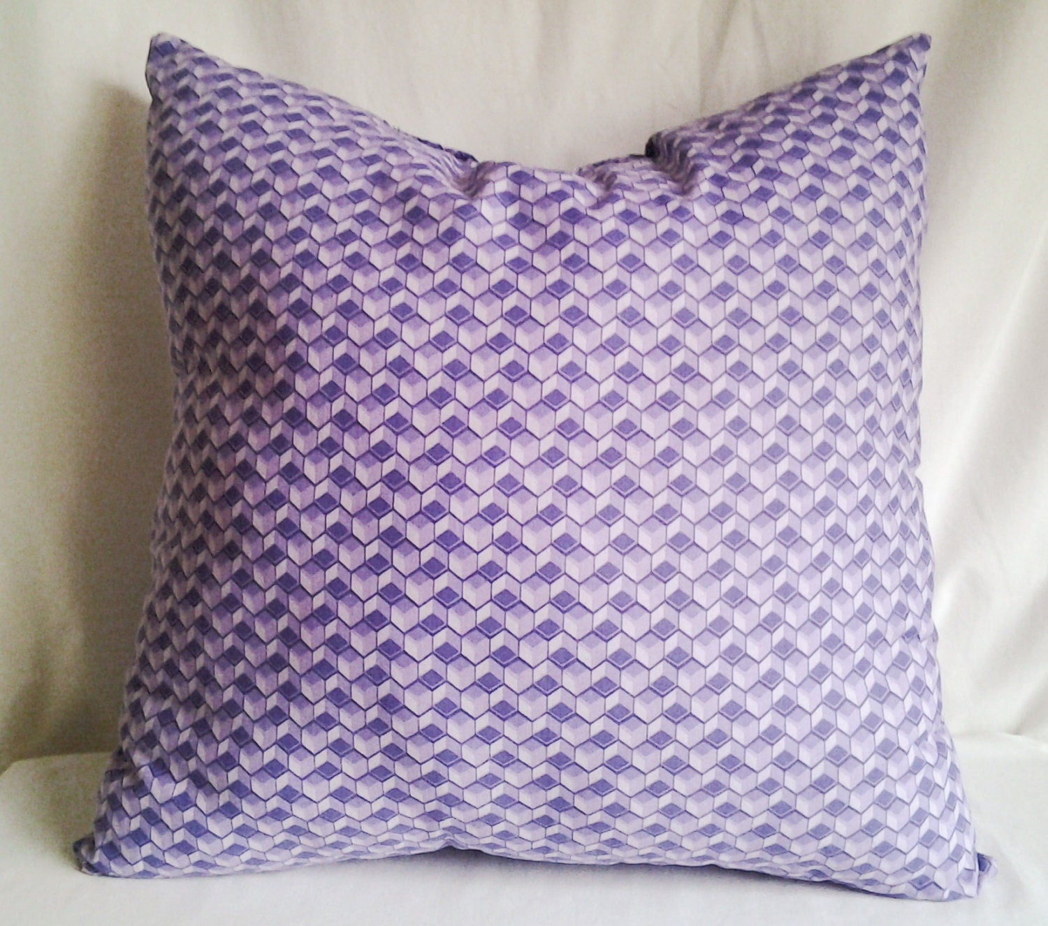 Light Purple Throw Pillow 18x18 Pillow Poly by AccentedbyGrace
