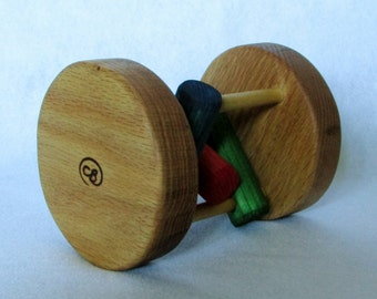 Rolling Rattle Toy