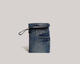 Denim Laptop Bag 13""