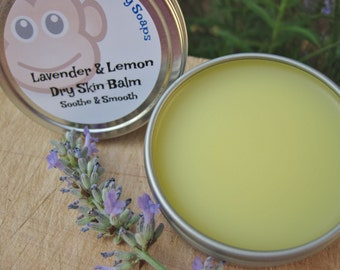 Lavender & Lemon Dry Skin Balm