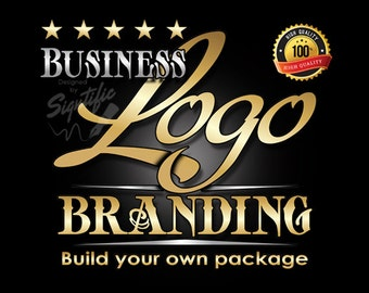 Logo, logos, logo branding package, customized logo pack, business logo in any colors, signature logo, build logo brand bundle, label design