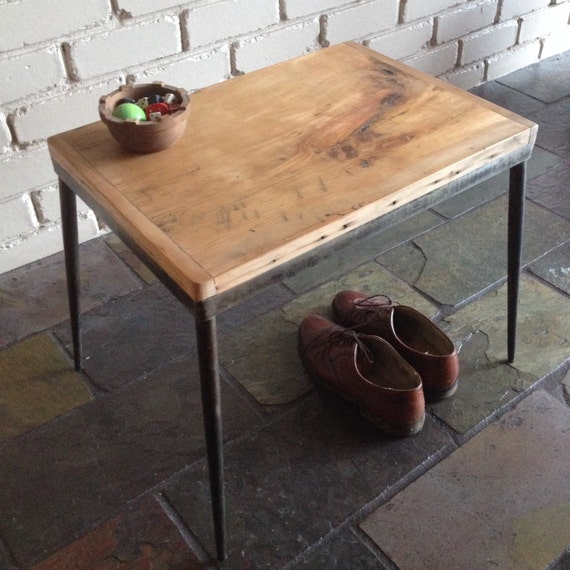 Vintage Upcycled Industrial Timber And Steel By AhansAdaddin