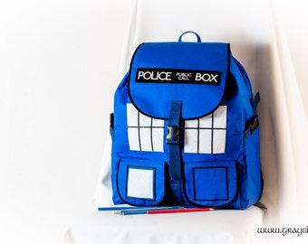 Doctor Who Tardis School Backpack