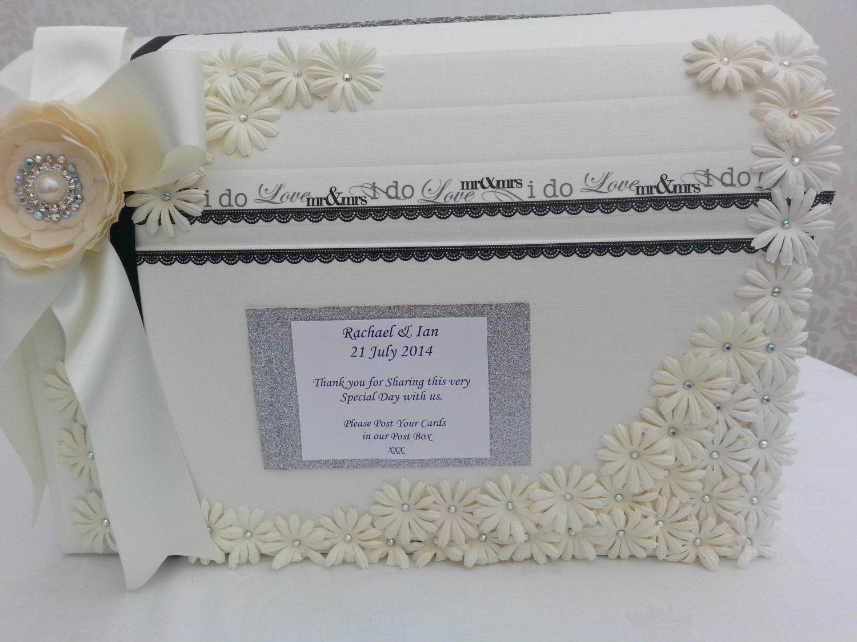 Wedding Gift Post Box: Ivory Wedding Card Post Box Anniversary Party Wishing Well