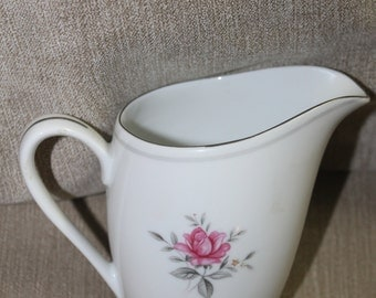 Vintage, Serenity Fine China With Rose Emblem on The Bottom of it, It is a Creamer, I know there is a Set Out There That Needs a Creamer