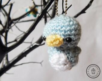 Mini Penguin Amigurumi Keychain - Little Penguin - Penguin Keychain - Penguin Plush - Penguin Toy - Stuffed Penguin - Kawaii Penguin