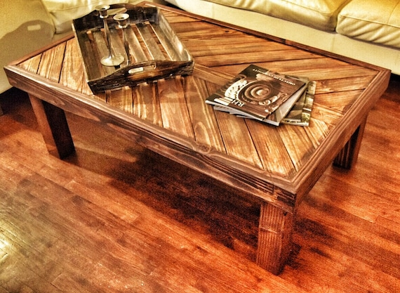 Rustic Coffee Table By Westsiderustica On Etsy