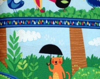 Wilmington Prints RAINFOREST FUN 100% Premium Cotton Quilt Fabric - per 1/2 yd