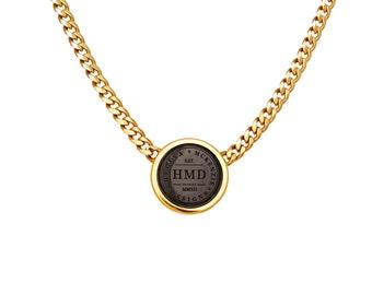 HMD Emblem Neckpiece - Gold
