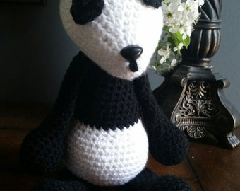 Crocheted Panda Amigurumi