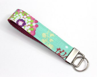Mint Julip Wrist Keychain, Wristlet Key Fob to match Kinderpack