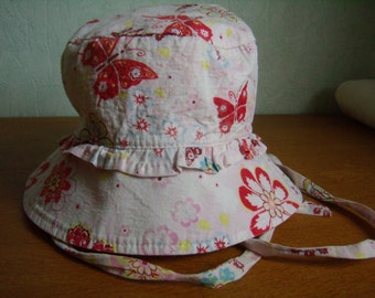 VINTAGE 90's / baby / Hat Sun, summer, size 1, girl