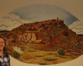 Lone Tree Mesa Mural