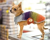 Dog sweater dog clothing pet lovers sweater dog pet puppy clothing dog coat pet gift dog dress knitted dog sweater cute dog clothes dog vest