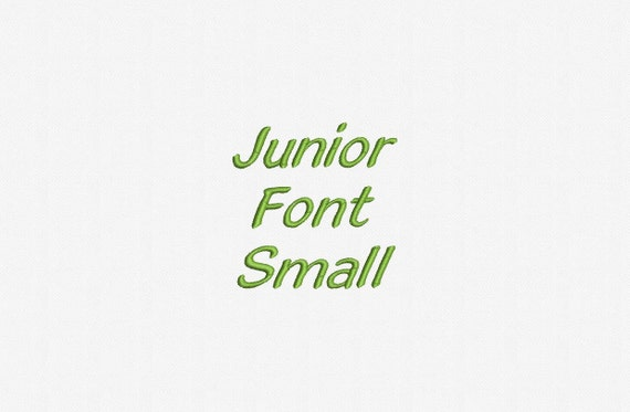 abc junior font small mini junior machine embroidery font by 16148 | il 570xN.784426245 dp2h