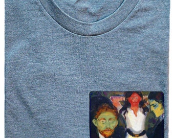 Jealousy Pocket Shirt (Edvard Munch)