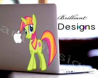 My Little Pony, My Little Pony Decal,Sticker, Macbook Pro, iPads, Laptops,Wall Decor and Vehicles, Geekery, Gift, For Her, For Him