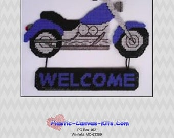 Motorcycle Welcome Sign