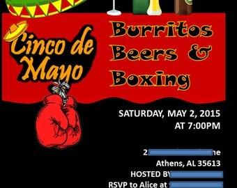 Cinco de Mayo Custom Invitation