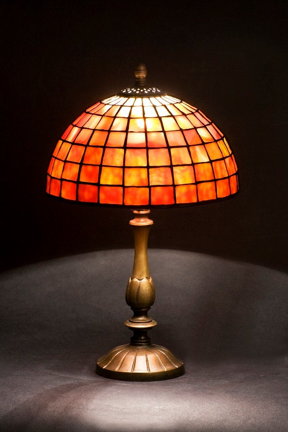 Nightstand Lamp Bedside Lamp Bedroom Lamp Stained Glass